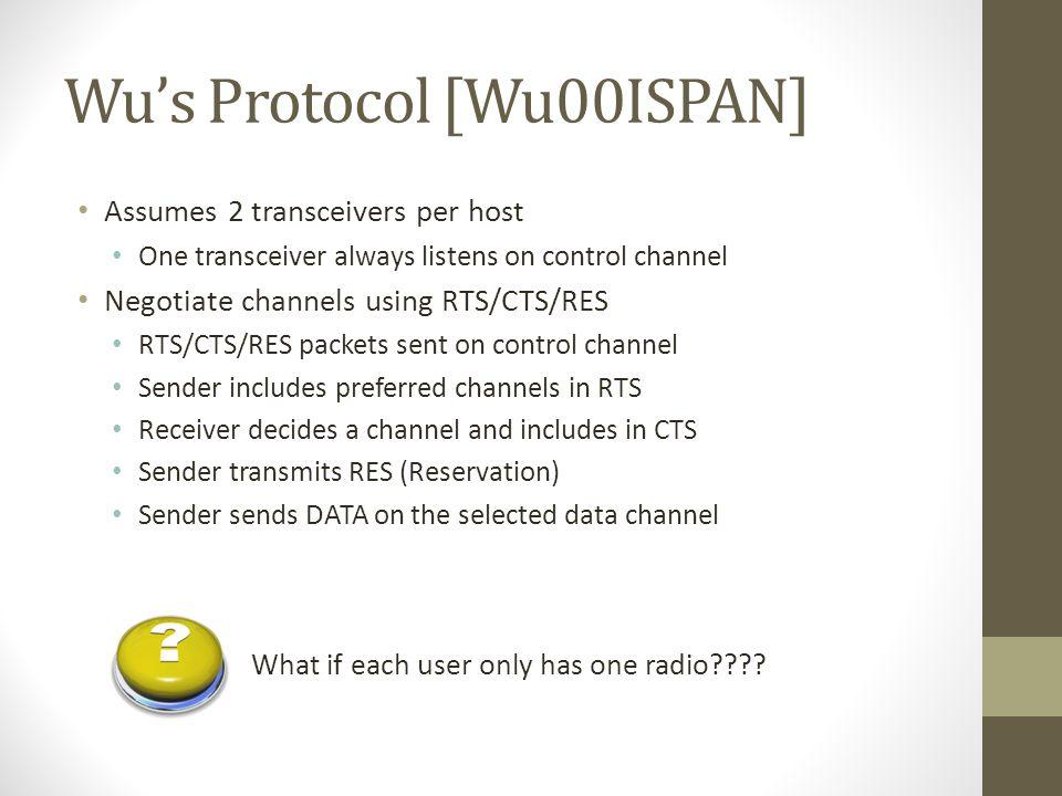 Wu's Protocol [Wu00ISPAN]